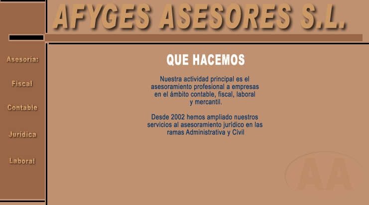 AFYGES ASESORES S.L.